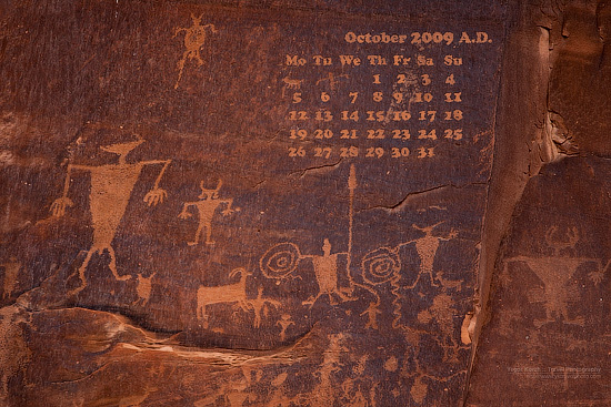 2009-october-moab-petroglyphs-wallpaper-calendar