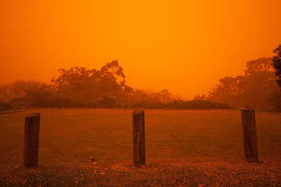 Sydney Under Dust Blanket, Sydney, Australia