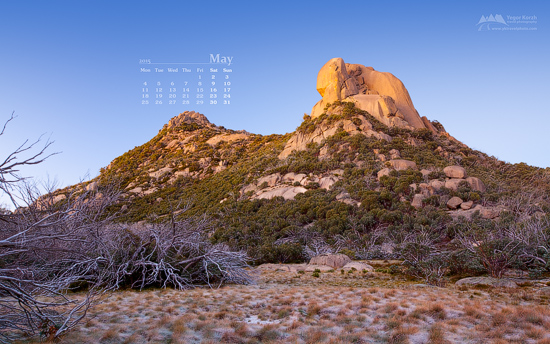 The Cathedral, Mount Buffalo National Park, Victoria, Australia | Desktop Wallpaper May 2015 Calendar (550x344)