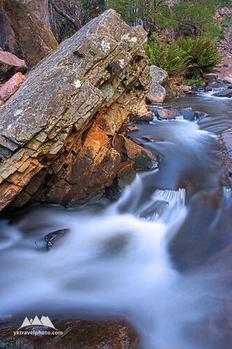 Creek at McKenzie Falls, Grampians National Park, VIC, Australia