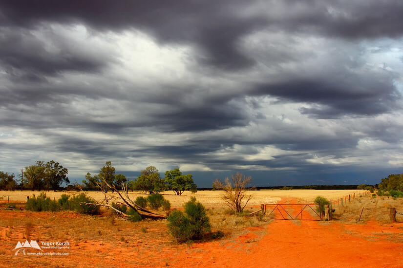 Mungo National Park, NSW, Australia