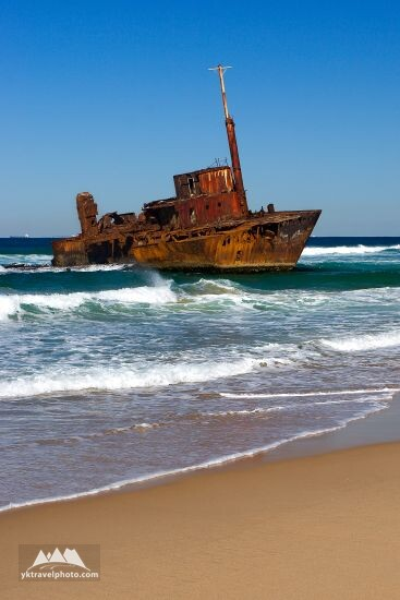 Sigma wrecks, Stockton Beach, NSW, Australia