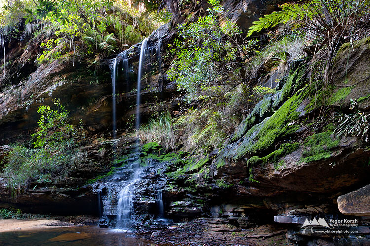 St. Michaels Falls, Blue Mountains, NSW, Australia