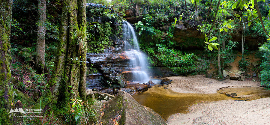 Federal Falls, Blue Mountains National Park, NSW, Australia