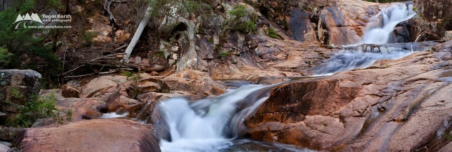 Mumbulla Creek Falls, Biamanga National Park, NSW, Australia