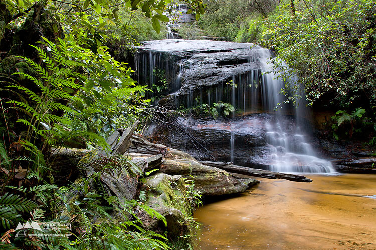 Cataract Falls, Blue Mountains National Park, NSW, Australia