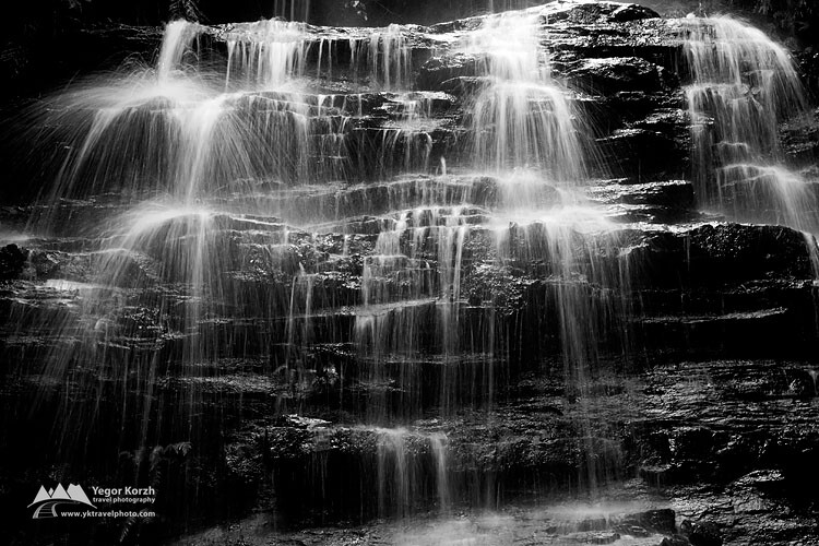 Junction Falls, Blue Mountains, NSW, Australia