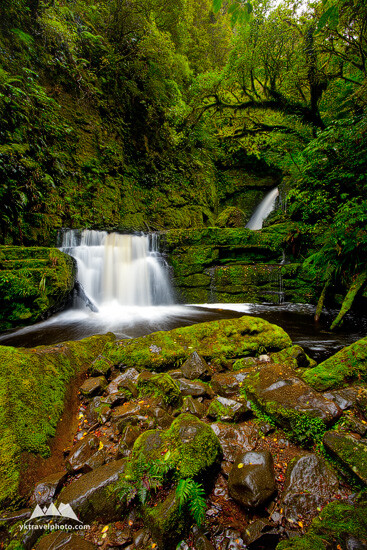 Lower McLean Falls, South Island, New Zealand