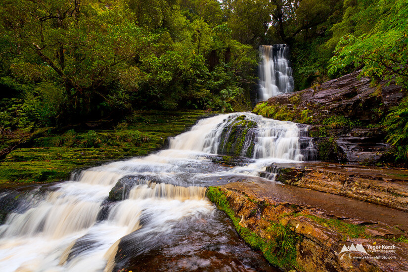 McLean Falls, Catlins, South Island, New Zealand