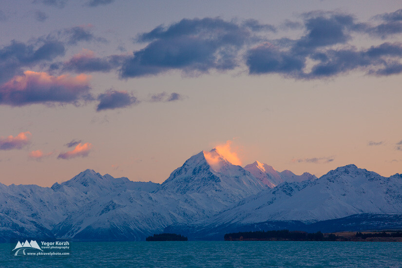 Aoraki/Mount Cook, Lake Pukaki, South Island, New Zealand
