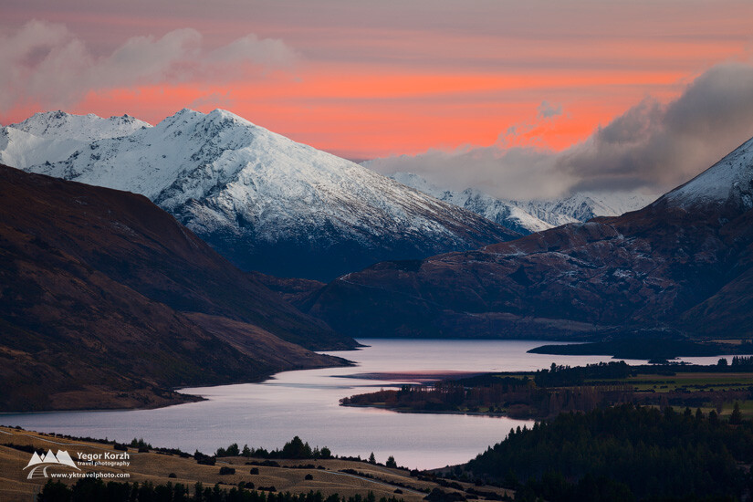 Stevensons Arm, Lake Wanaka, South Island, New Zealand