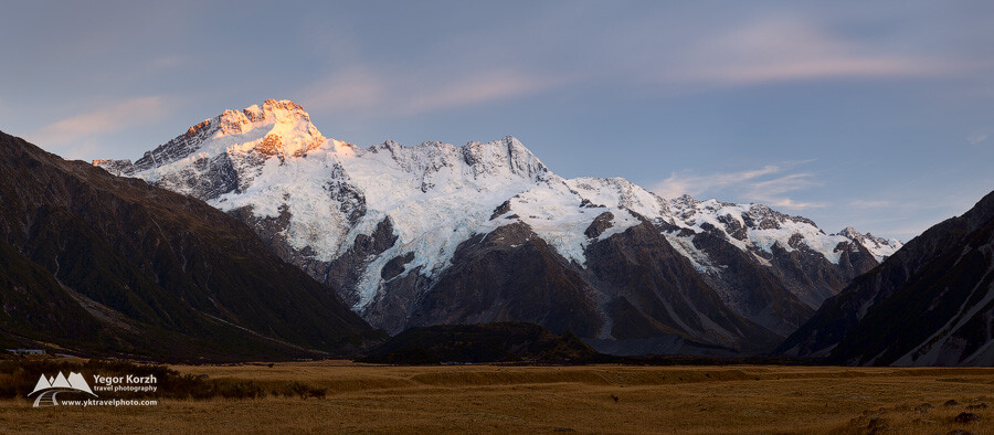 Mount Sefton, Aoraki-Mount Cook NP, South Island, New Zealand
