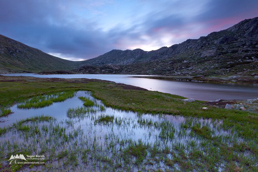 Lake Albina, Kosciuszko National Park, NSW, Australia