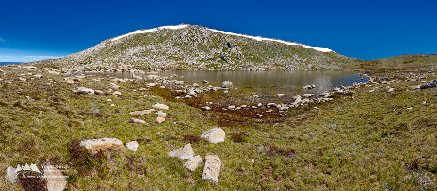 Lake Cootapatamba, Kosciuszko National Park, NSW, Australia