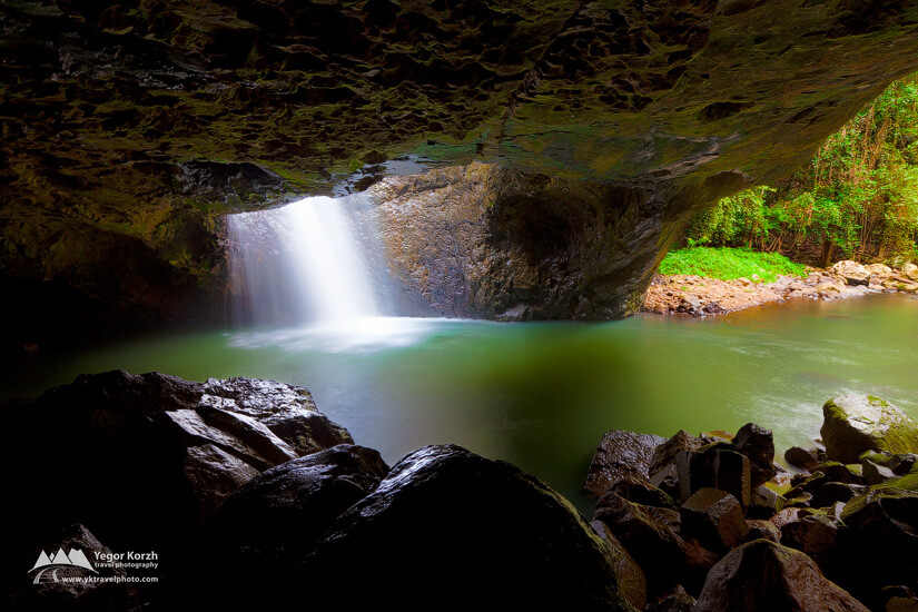 Natural Bridge, Springbrook National Park, QLD, Australia
