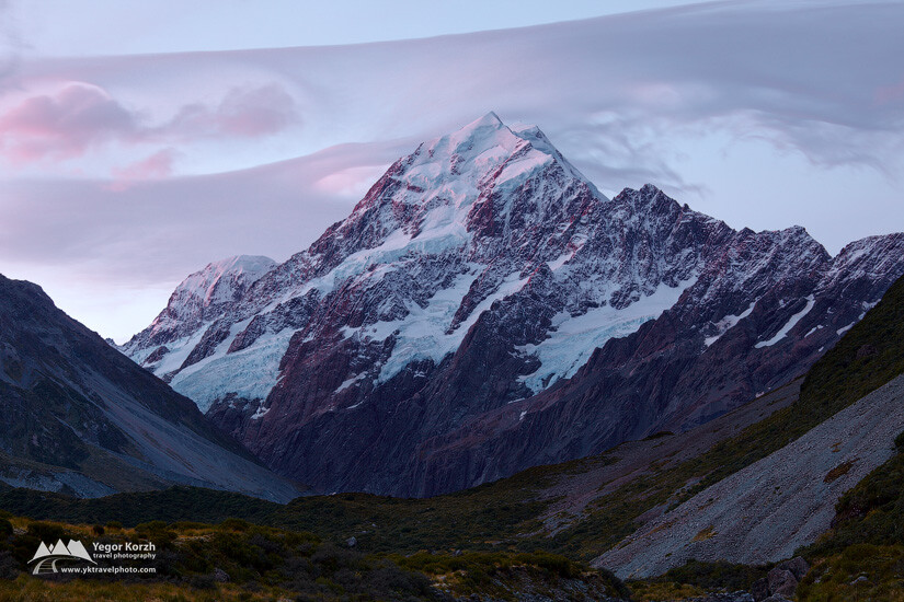 Hooker Valley, Aoraki- Mt Cook NP, South Island, New Zealand