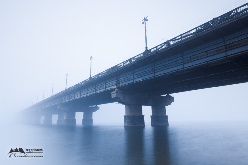 Paton Bridge, Kiev, Ukraine