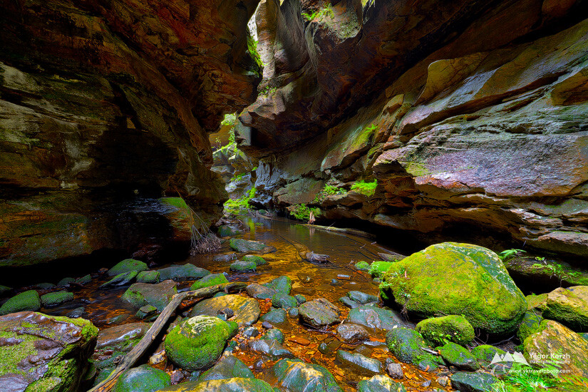 Grand Canyon Bottom, NSW, Australia