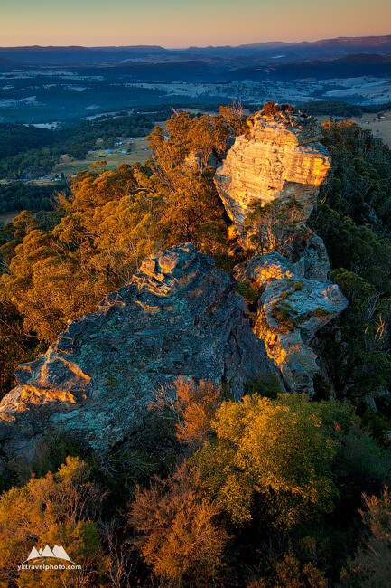 Hassans Walls Rock Formations, Lithgow, NSW, Australia