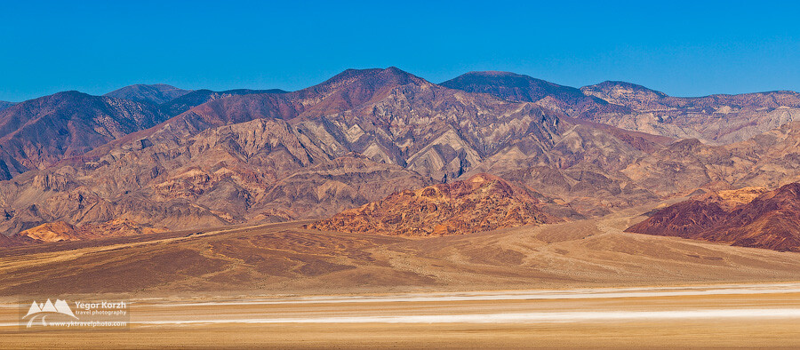 Panamint Range, Death Valley, CA, USA