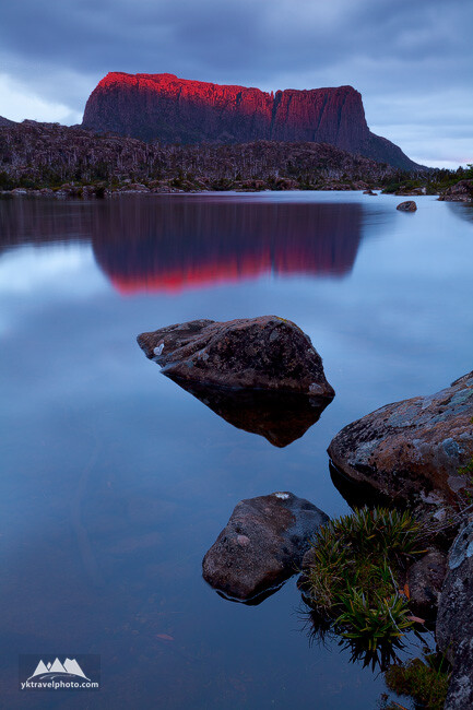 Mount Acropolis, Lake Elysia, The Labyrinth,Tasmania, Australia