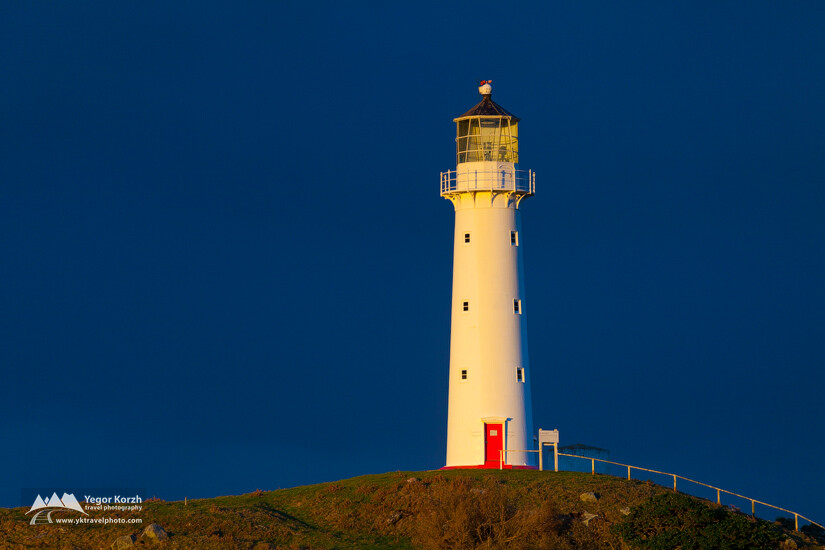 Cape Egmond Lighthouse, North Island, New Zealand