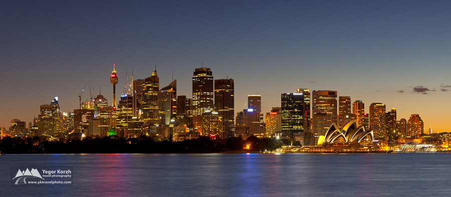 Sydney City (from Cremorne Point), NSW, Australia