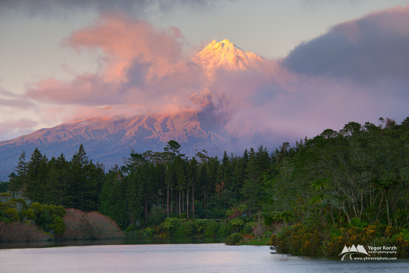 Mount Taranaki (Mt. Egmond), North Island, New Zealand