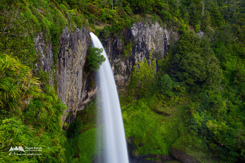 Bridal Veil Falls, North Island, New Zealand
