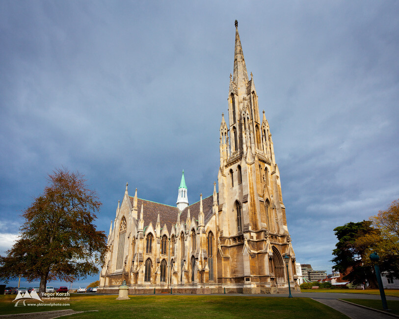First Church of Otago, Dunedin, South Island, New Zealand