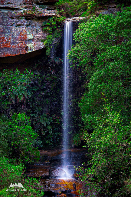 Centennial Glen Falls, Blue Mountains, NSW, Australia
