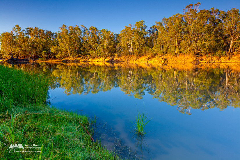 Boundary Bend, Murray River, VIC, Australia