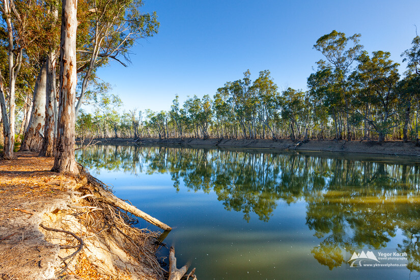 Robertsons Bend, Murray River, VIC, Australia