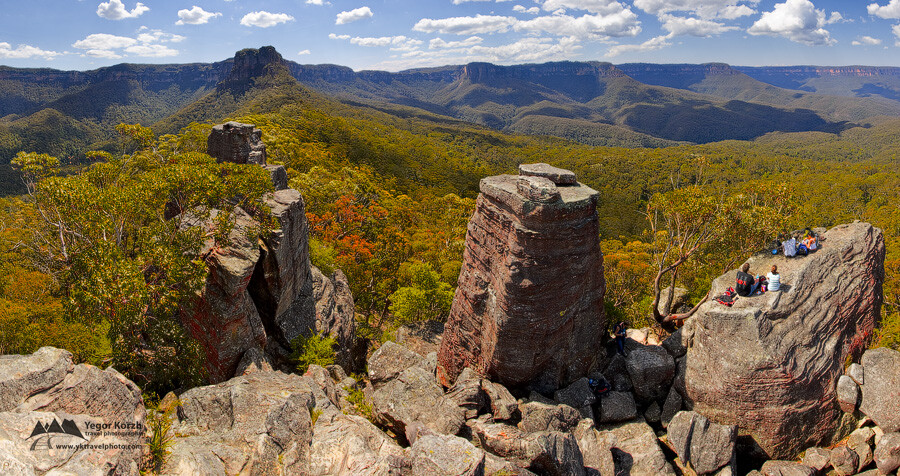 Ruined Castle, Blue Mountains National Park, NSW, Australia