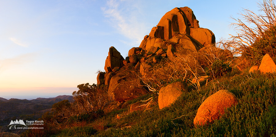 The Cathedral, Mount Buffalo National Park, VIC, Australia
