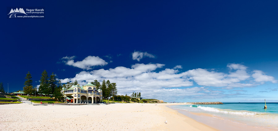 Cottesloe Beach and Tea House, Perth, WA, Australia