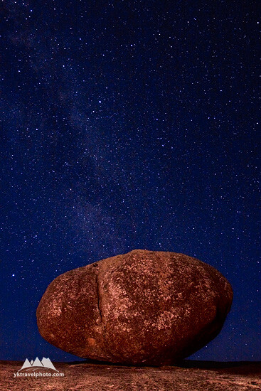 Granite Boulder, Bald Rock National Park, NSW, Australia