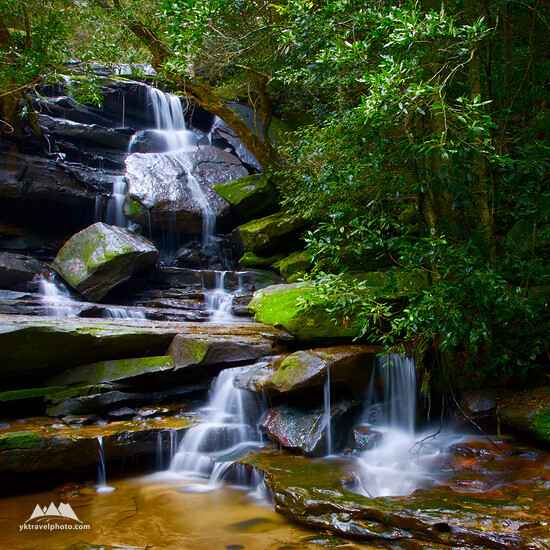 Bottom Somersby Falls, Central Coast, NSW, Australia