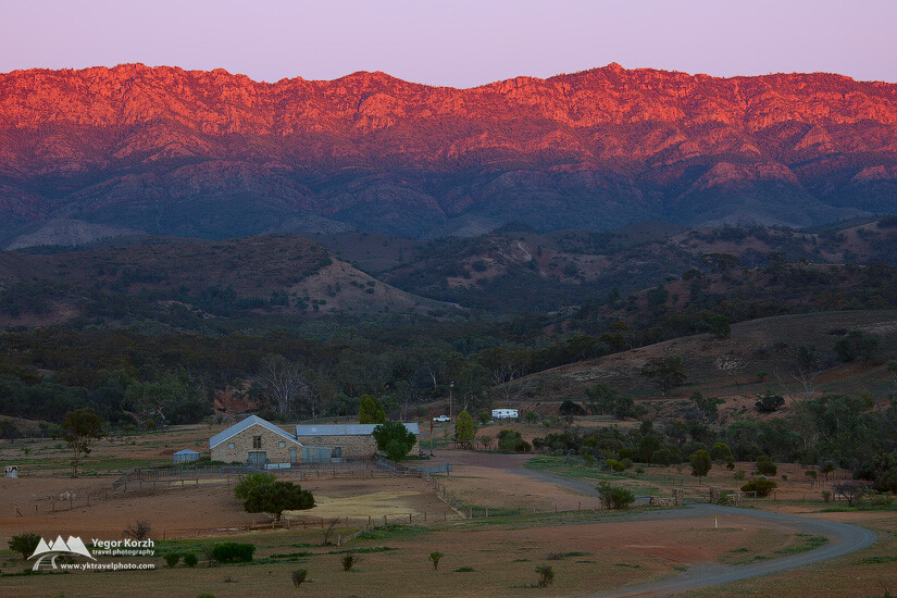 Arkaba Station, Flinders Ranges, SA, Australia