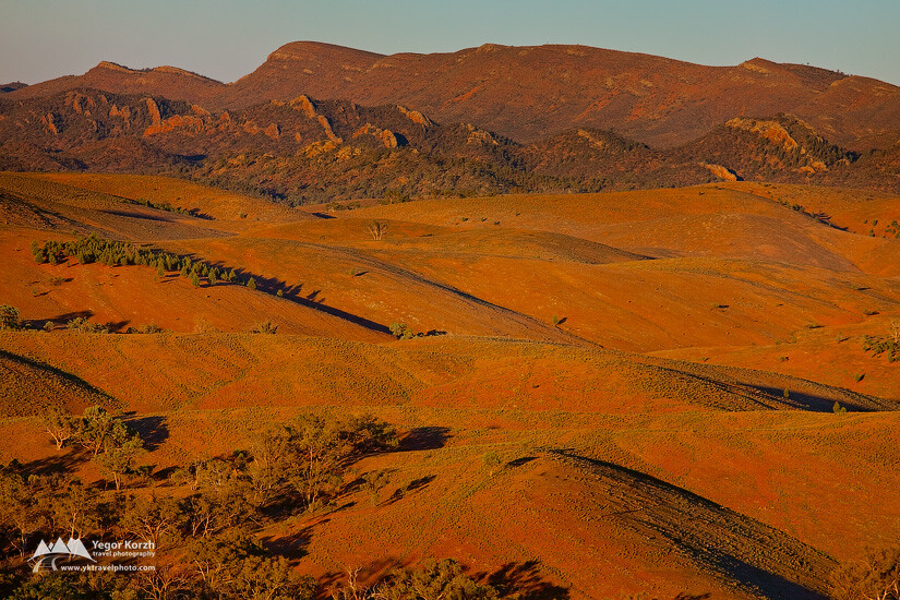 The Bunkers, Stokes Hill Lookout, Flinders Ranges National Park, SA, Australia