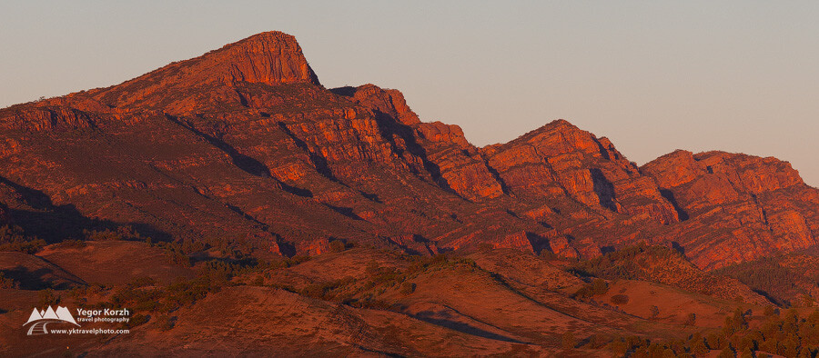 St. Mary's Peak, Flinders Ranges National Park, SA, Australia