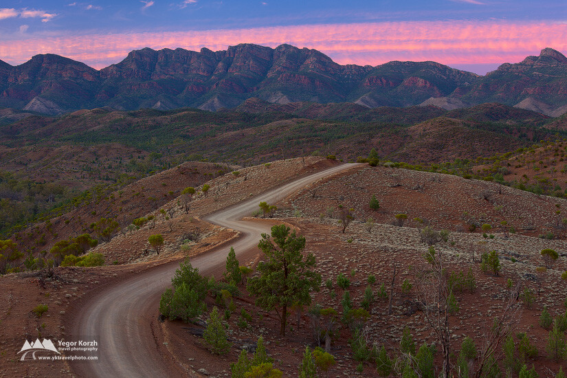 Bunyeroo Valley, Flinders Ranges National Park, SA, Australia