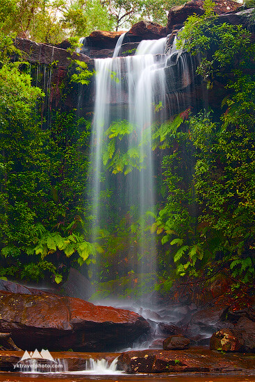 National Falls, Royal National Park, NSW, Australia