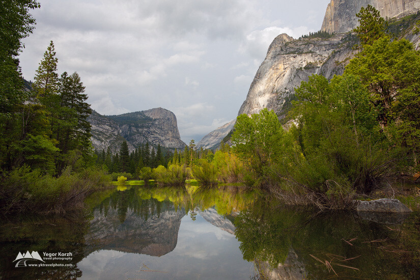 Mirror Lake, Yosemite National Park, CA, USA