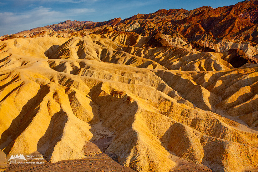 Zabriskie Point, Death Valley Ntional Park, California, USA