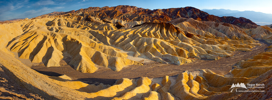 Zabriskie Point, Death Valley National Park, CA, USA