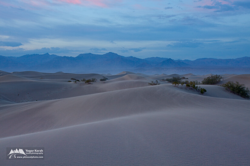 Mesquite Dunes, Death Valley National Park, California, USA