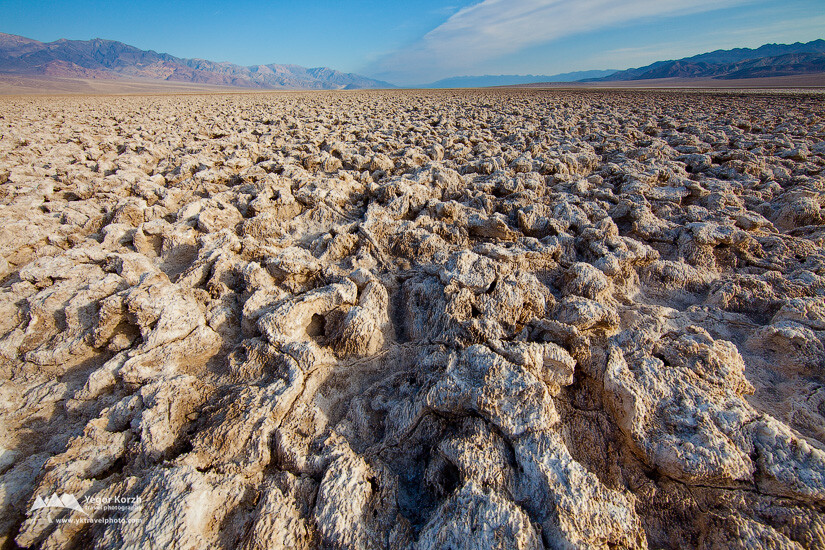 Devil's Golfcourse, Badwater Basin, Death Valley NP, California, USA