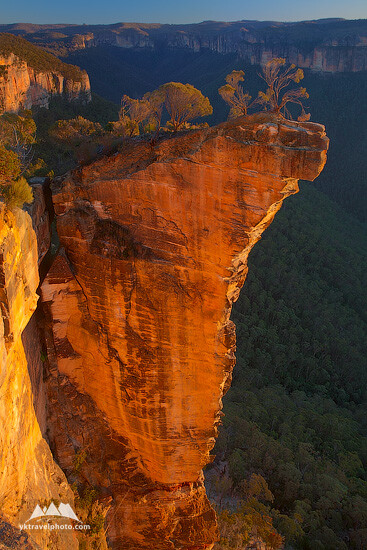 Hanging Rock, Blue Mountains National Park, NSW, Australia