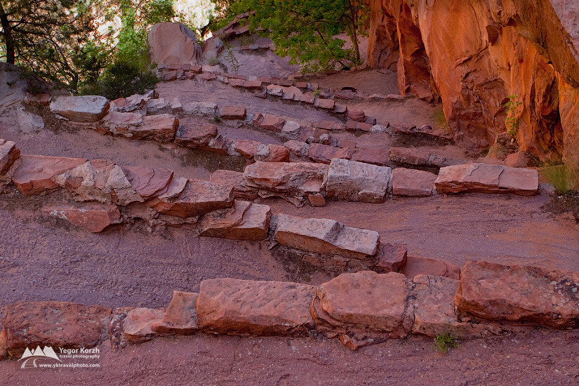 Walter's Wiggles, Angel's Landing, Zion National Park, Utah, USA